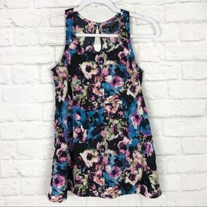 Romeo + Juliet Couture Floral Sleeveless TankTop S